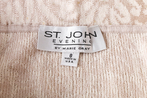 ST. JOHN EVENING Marie Gray Pencil Skirt  - tag