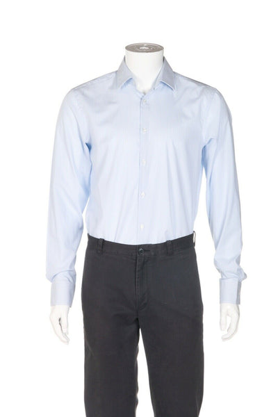 HUGO BOSS Striped Sharp-Fit Dress Shirt - alternate view