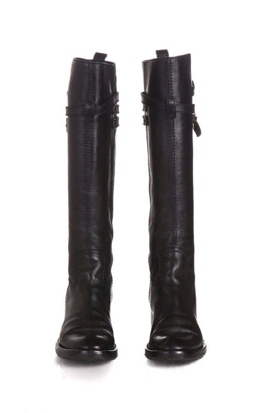 GUCCI Knee High Riding Boots Size 37.5