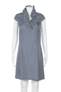 DEVON BAER 100% Silk Striped Dress Size XS