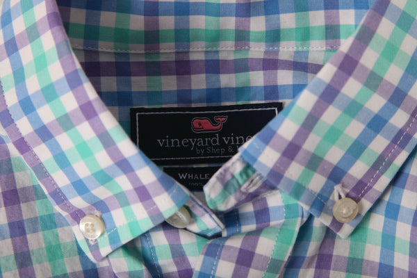 VINEYARD VINES Boy's Whale Shirt Size M (12-14)