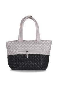 OLIVER THOMAS Quilted Wing Woman Tote Bag (New)