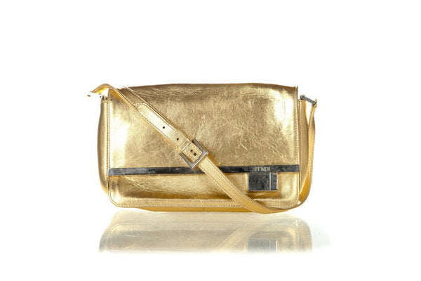 FENDI Vintage Flap Shoulder Bag