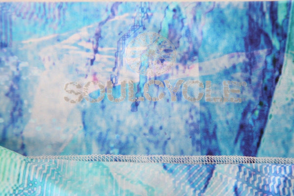 SOULCYCLE Abstract Print Leggings Size XS