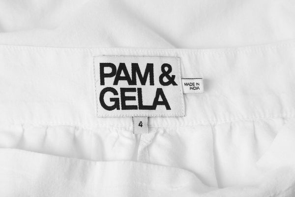 PAM & GELA Mini Crochet Trim Skirt Size S