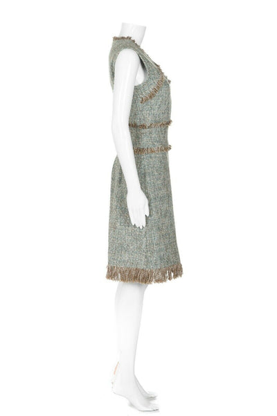 TORY BURCH Tweed Cocktail Dress Size 6