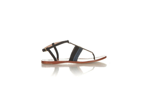 TORY BURCH Strappy Leather Thong Sandals Size 7