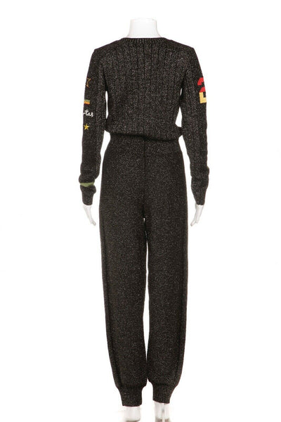 BELLA FREUD Metallic Jumpsuit Size S