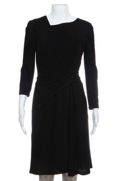 PAULE KA Ruched Cocktail Dress Size 38 (M)
