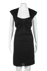 VANESSA BRUNO Formal Cap Sleeve Dress Size 40 (M)