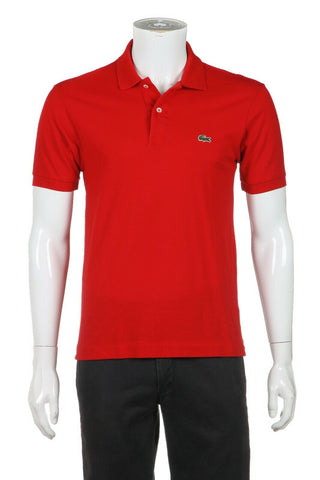 LACOSTE Classic Fit Polo Shirt Size 3 (S)