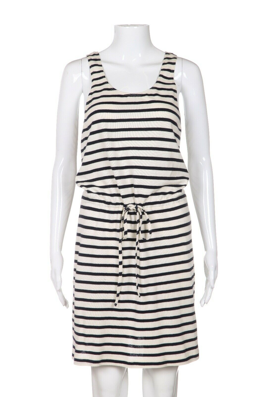 FAHERTY Knit Striped Drawstring Dress Size XS