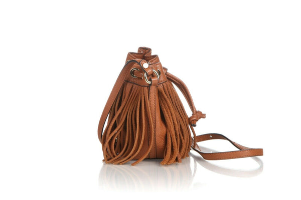 REBECCA MINKOFF Fiona Fringe Bucket Crossbody Bag