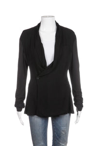 JAMES PERSE Draped Cardigan Jacket Size 2 (M)