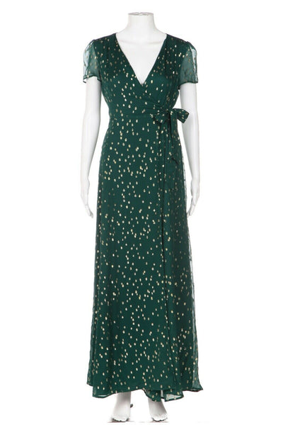 SEZANE Robe Armelle Maxi Wrap Dress Size 36 (New)