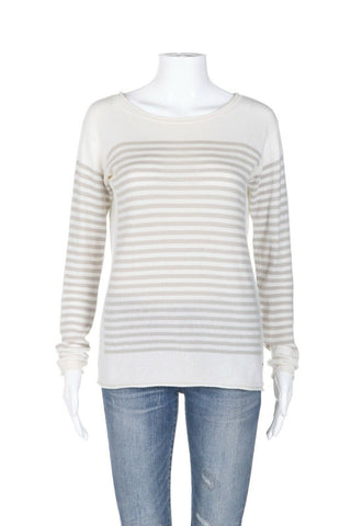 LORO PIANA Baby Cashmere Sweater Top Size 40 (S)