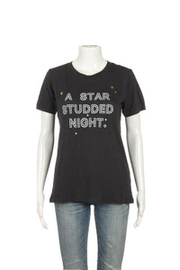 J.CREW 'A Studded Night' Marfa Texas Tee Size S
