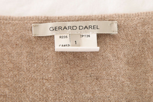 GERARD DAREL Striped Knit Sweater Size 1 (S)