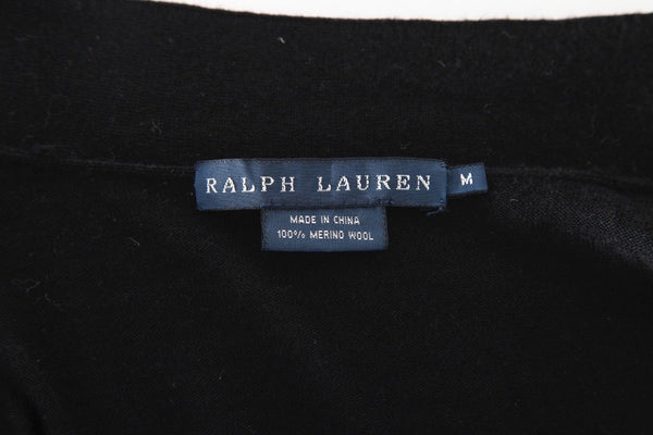 Ralph Lauren Blue Label 100% Merino Wool Cardigan Size M