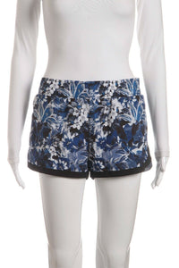 LORNA JANE Floral Running Shorts Size M