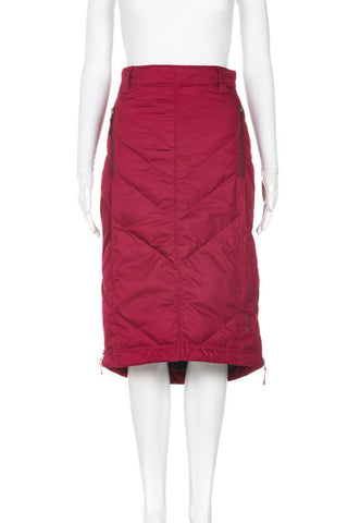 Skhoop Quilted Mary Midi Down Skirt