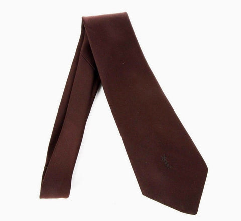 YVES SAINT LAURENT Men's Vintage Silk Neck Tie