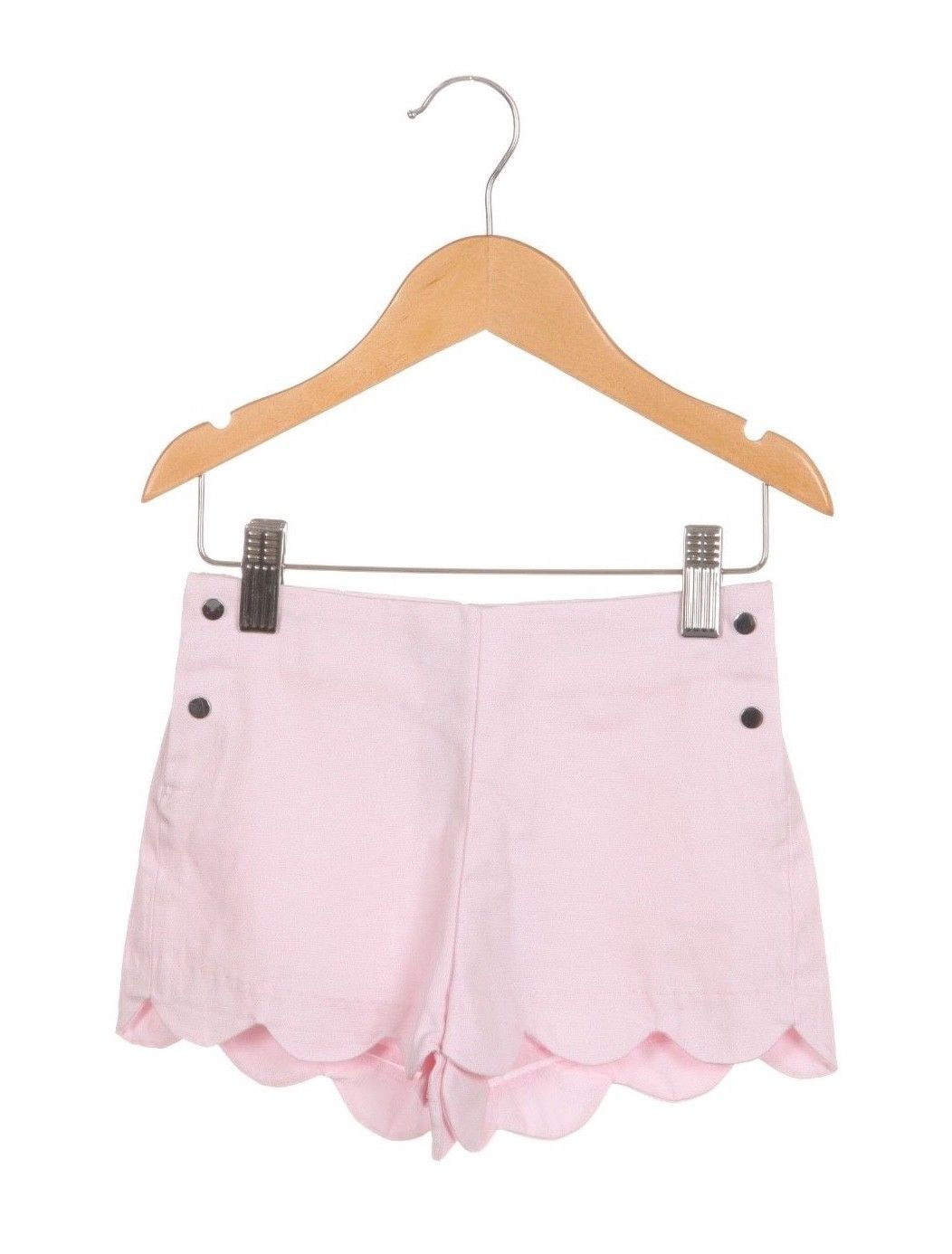 Pink Scalloped Hem Shorts Size 3 (New)