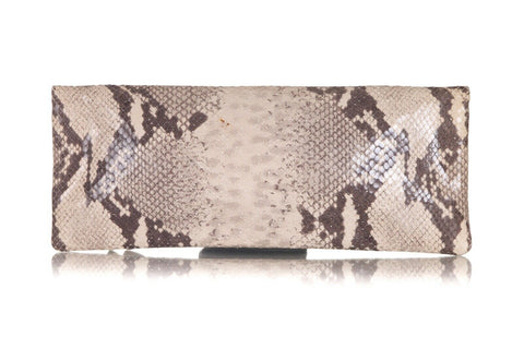 HENRI BENDEL Snakeskin Embossed Flap Envelope Bag