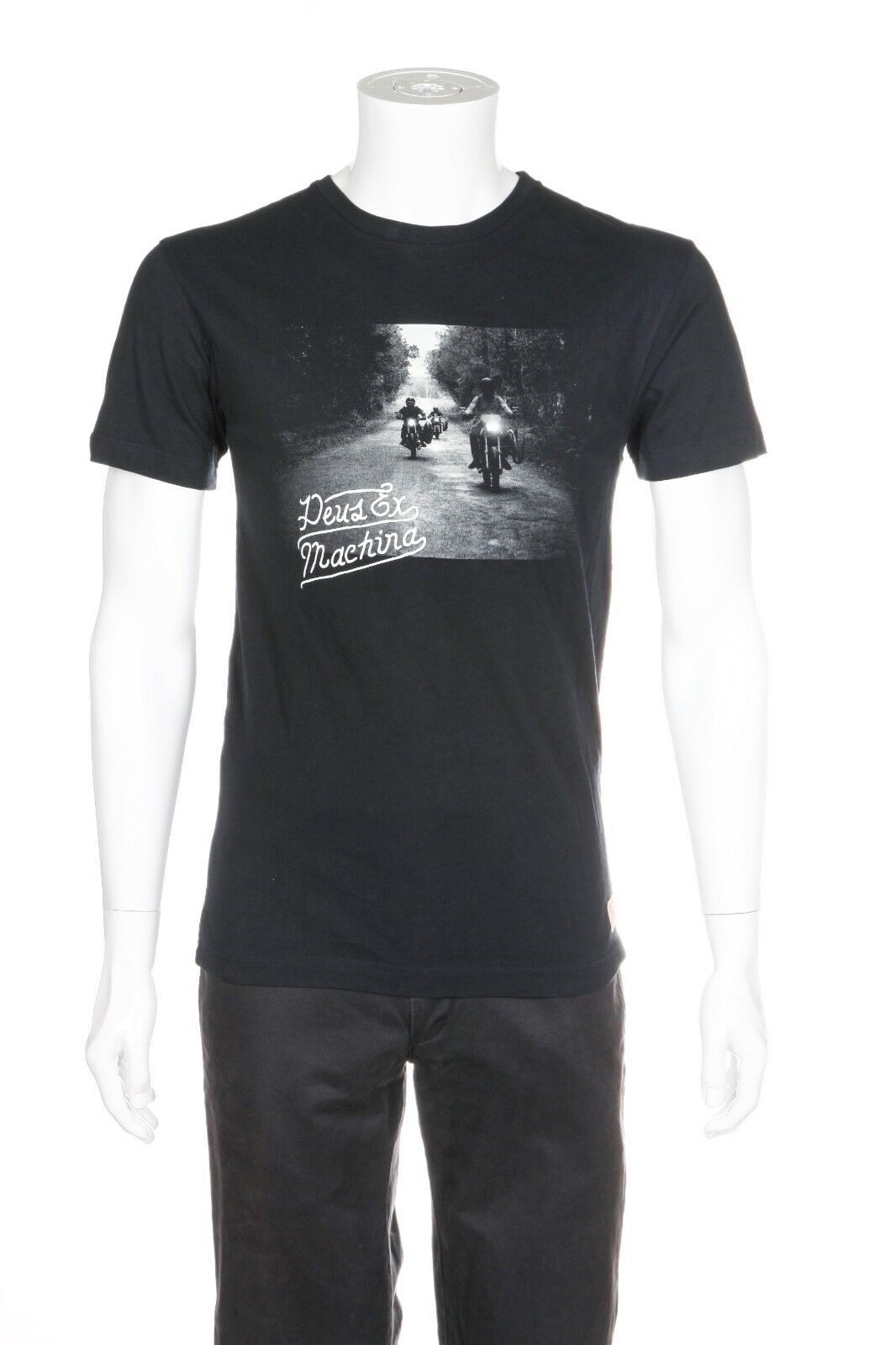 DEUS EX MACHINA Night Rider Tee Size S (New)