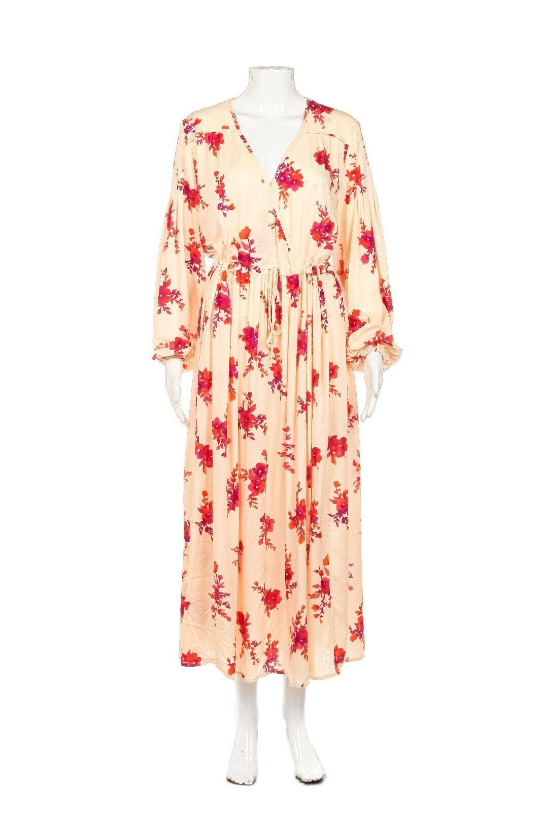 CHRISTY DAWN Delilah Midi Wrap Dress Size OS (New)
