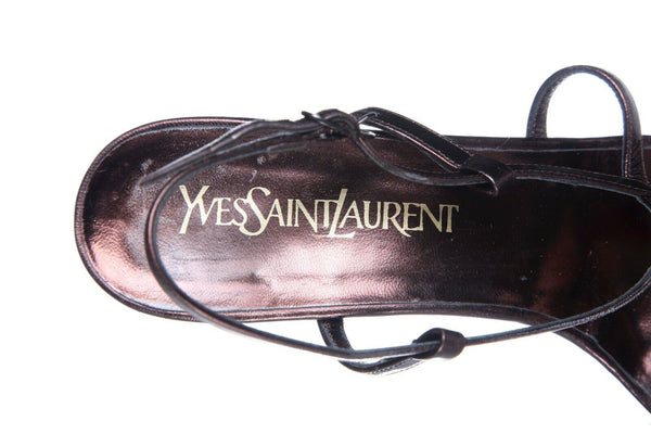 YVES SAINT LAURENT Strappy Sandals Size 7.5