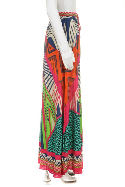 FLYING TOMATO Multi Colored Maxi Skirt Size S