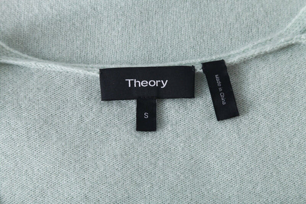 THEORY 100% Cashmere V-Neck Sweater Size S