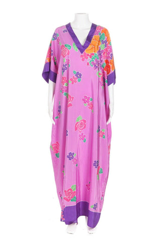 OSCAR DE LA RENTA for Swim Vintage Kaftan Dress Size OS