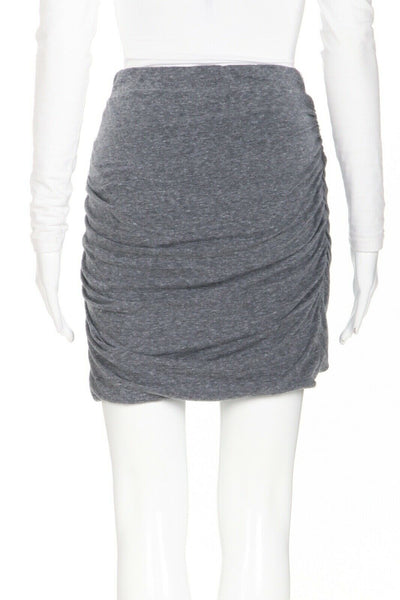 PAM & GELA Jersey Mini Ruched Skirt Size L