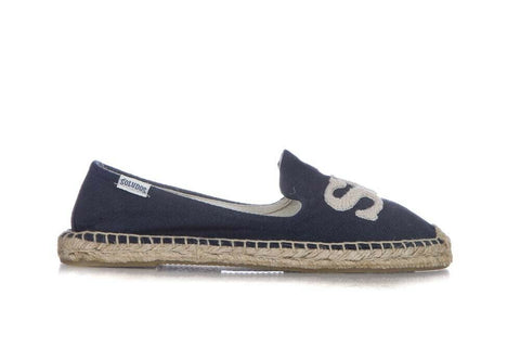 SOLUDOS Blue Surf Espadrille Loafers Size 7