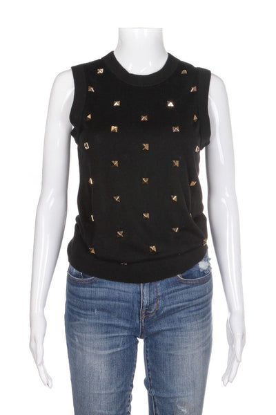 KATE SPADE Tarlyn Knit Embellished Top Size S (New)