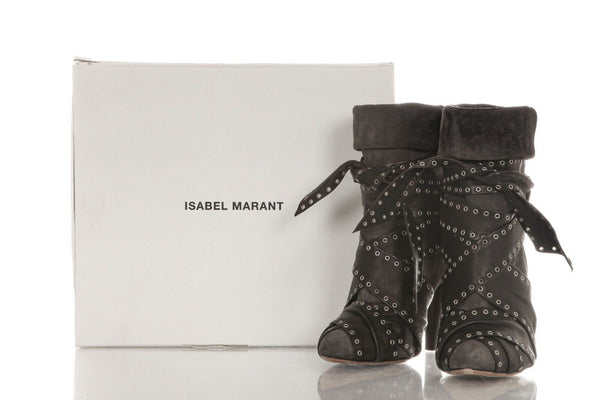 ISABEL MARANT Aleen Ankle Boots Size 8.5