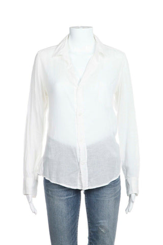 White Button Down Shirt Size XS