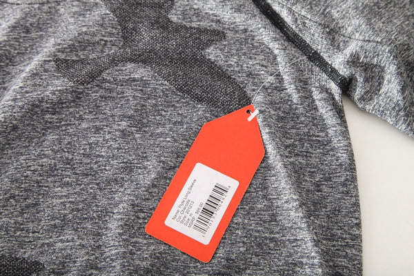 OISELLE Athletic Long Sleeve Gray Flyte Top (New)