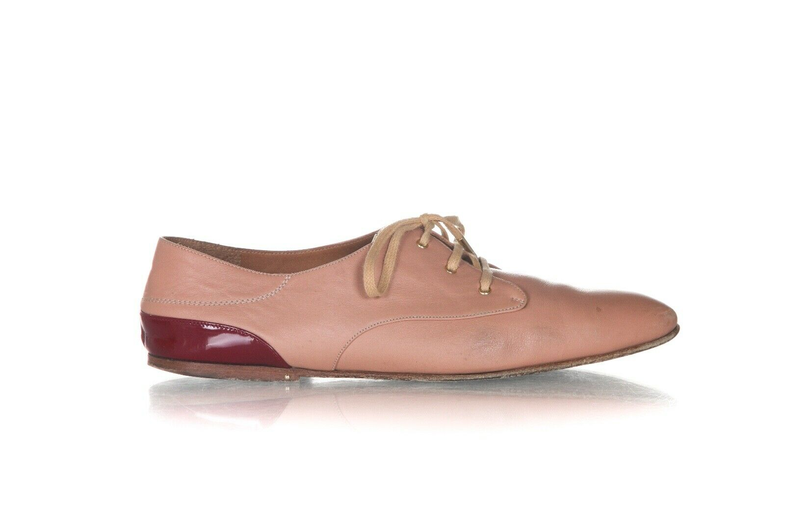 CHLOE Leather Oxford Shoes Size 37