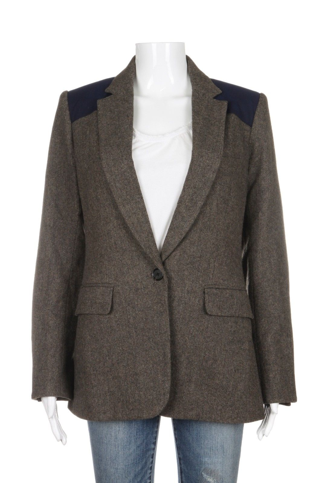 VERONICA BEARD Wool Blend Blazer Size 6