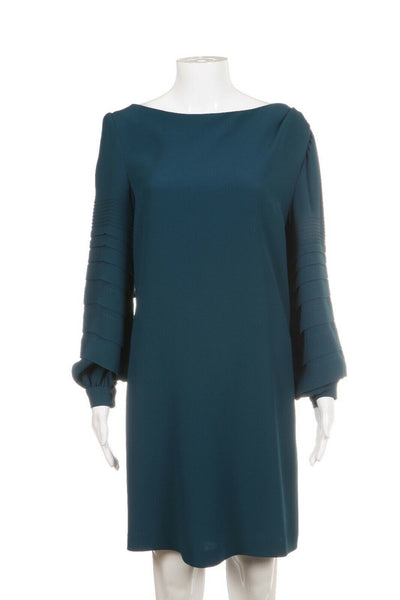 LUISA BECCARIA Long Sleeve Sheath Dress Size 44 (M)