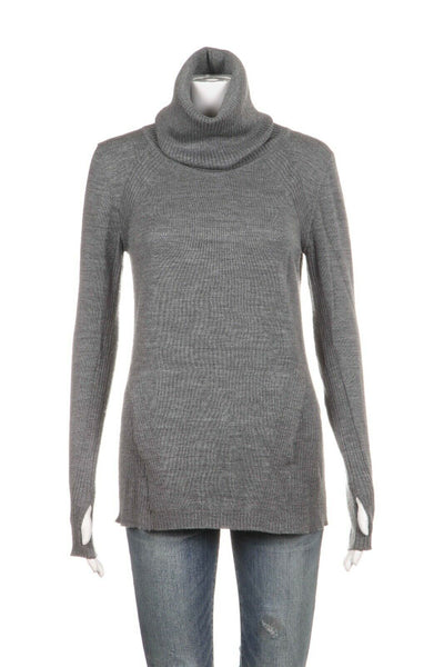 LULULEMON Savasana Wool Turtleneck Sweater Size 4