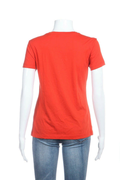 Orange Short Sleeve basic Tee Size XS