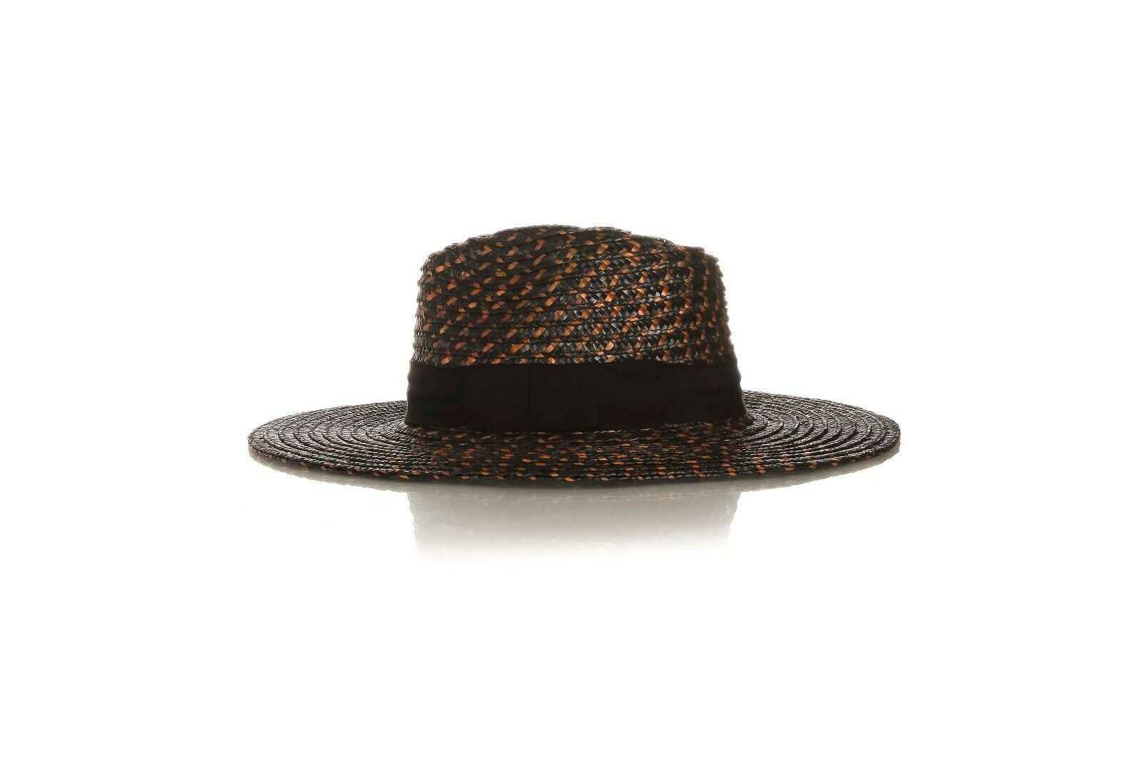 BRIXTON Joanna Washed Black Straw Hat Size S (New)