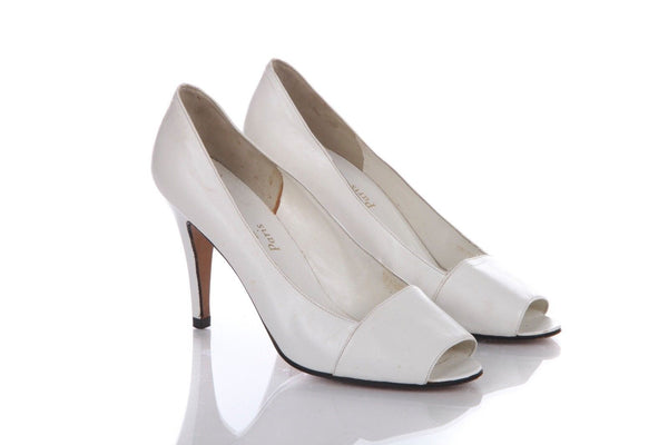 YVES SAINT LAURENT Vintage Pumps Heels Size 7.5