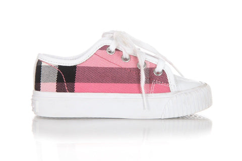 BURBERRY Toddler Girls Sneakers Size 8.5
