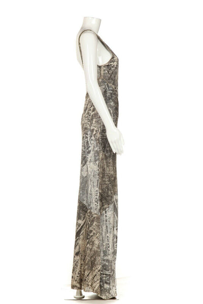 ROBERTA SCARPA Maxi Dress Low Back Size 8