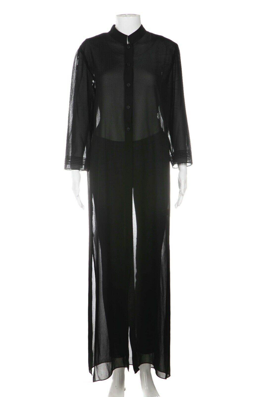STUDIO I Sheer Long Duster Top Size 12